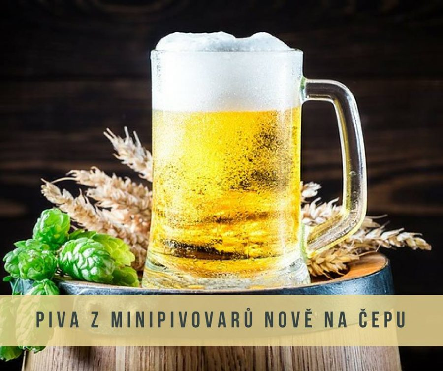 Piva z minipivovarů